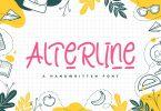 Alterline - Playful Font