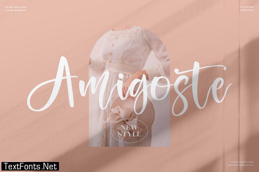 Amigoste Beautiful Script LS