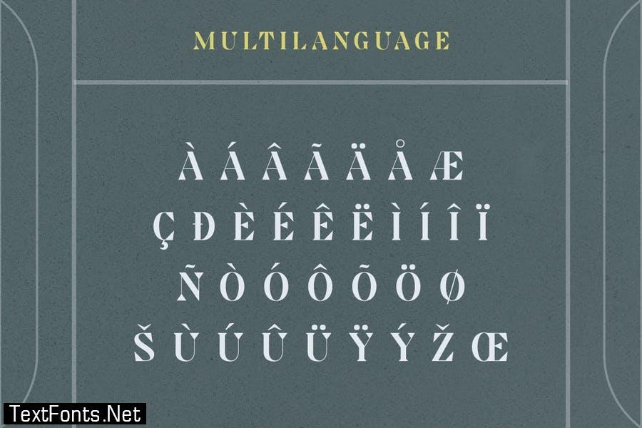 Arkyn Modern Classic Serif Font