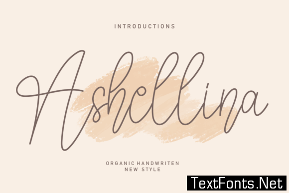 Ashellina Font