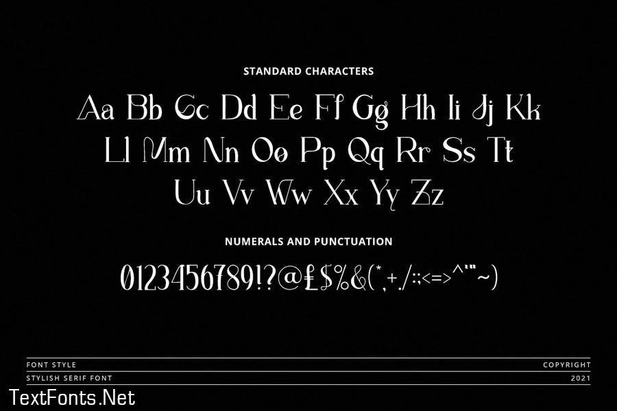 Atlantic - Modern Stylish Font