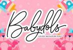 Babydols Font