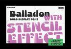 Balladon Font
