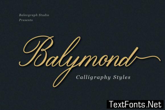 Balymond Font