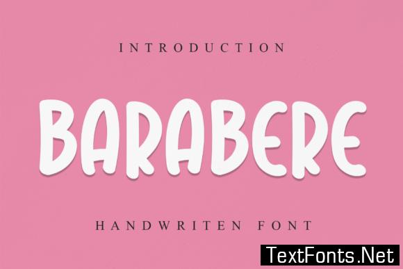 Barabere Font