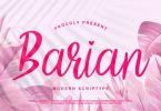 Barian Font