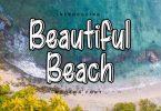 Beautiful Beach Font