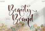 Beauty Brand Beautiful Script LS