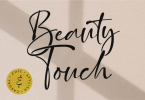 Beauty Touch Font
