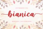 Bianica Font