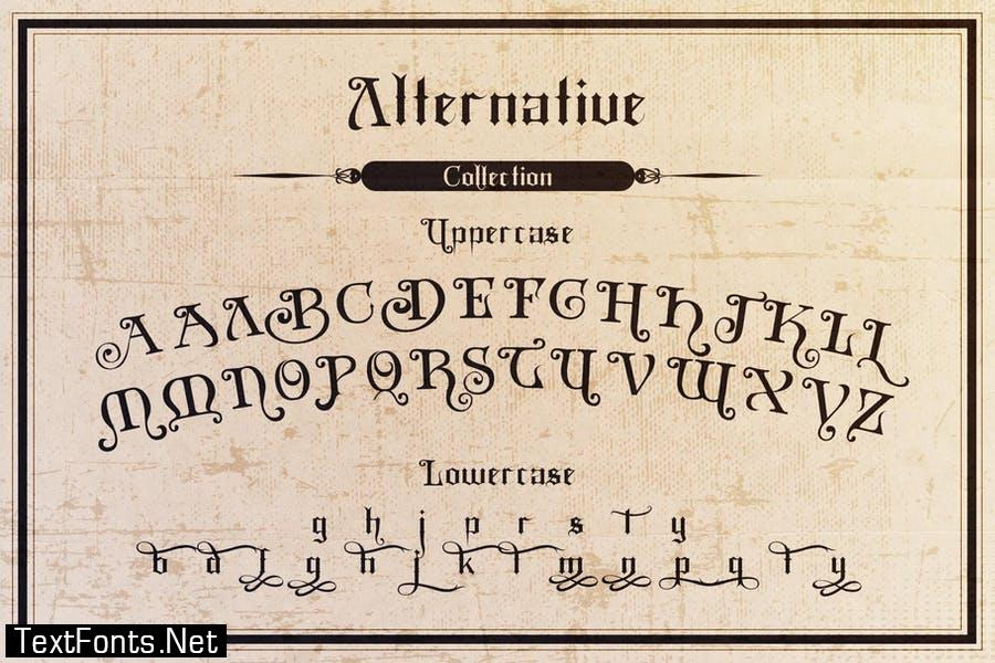 Black Mild Typeface Font
