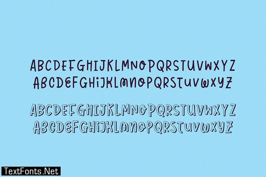 Bojangles Font Duo