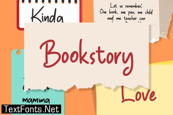 Bookstory Font