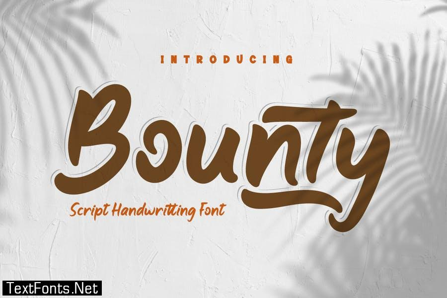 Bounty Font