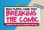 Breaking The Comic -Bold Playful Comic Font