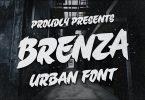 Brenza - Trendy Urban Font