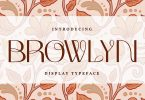 Browlyn | Display Typeface Font