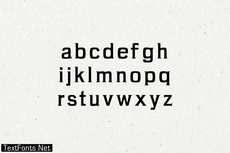 Brycen Serif Font Family