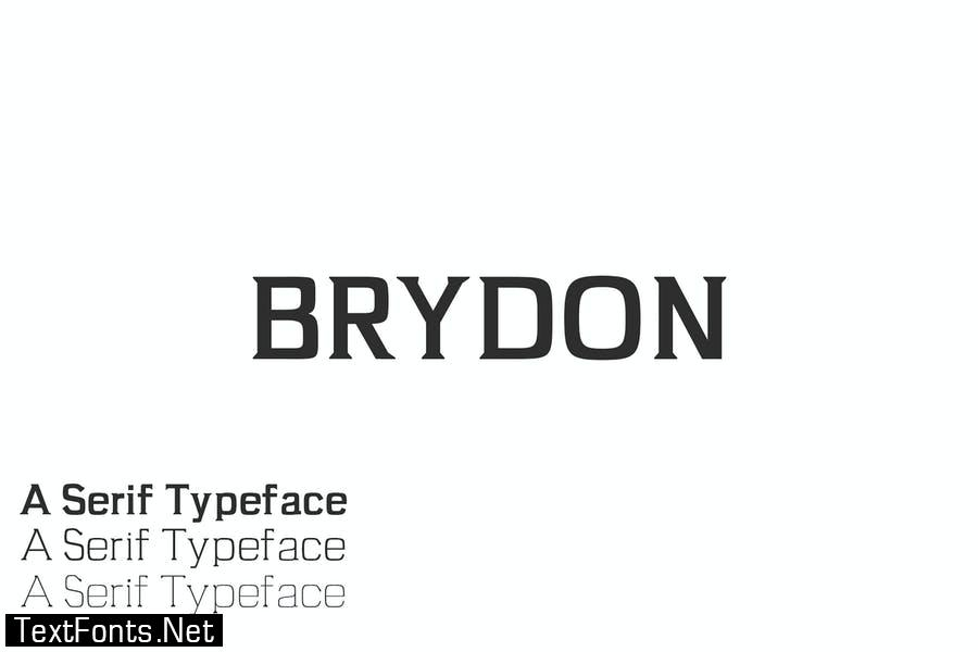 Brydon Serif Typeface