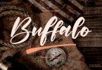 Buffalo Handwritten Font LS