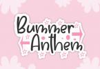Bummer Anthem Font