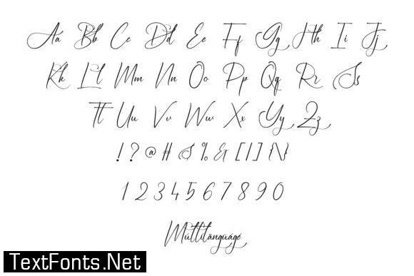 Burlington Font