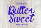 Butter Sweet Font