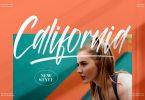 California Handwritten Font LS