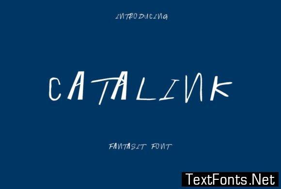 Catalink Font