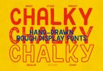 Chalky Family - Handdrawn