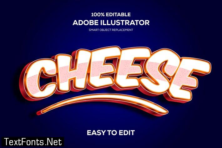 Cheese Text Effects