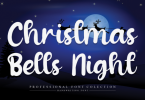 Christmas Bells Night Font