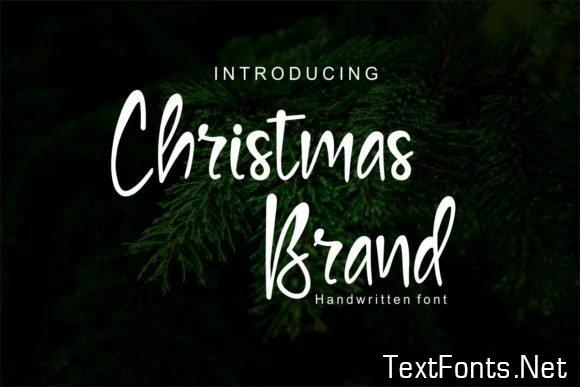 Christmas Brand Font