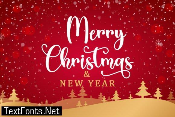 Christmas Cheer Font