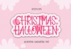 Christmas Halloween Font