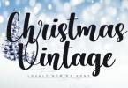 Christmas Vintage Font