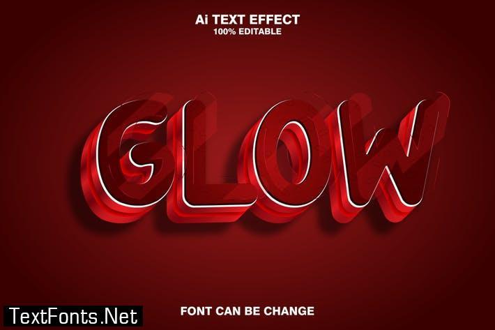 clow 3d text effect