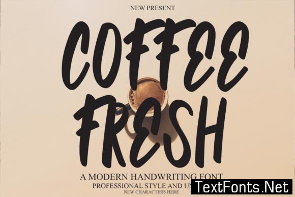Coffee Fresh Font