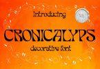 Cronicalypse Font