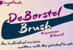 DeBorstel Brush Pro Font