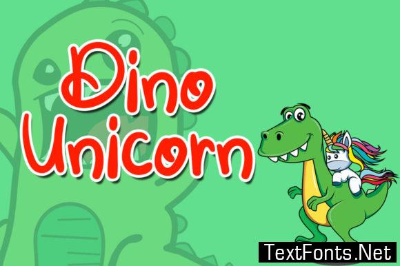 Dino Unicorn Font