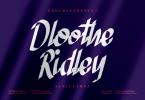Dloothe Ridley Font