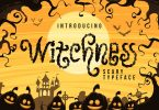 DS Witchness – Scary Typeface