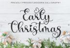 Early Christmas Font