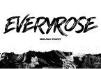 Everyrose - Brush Font