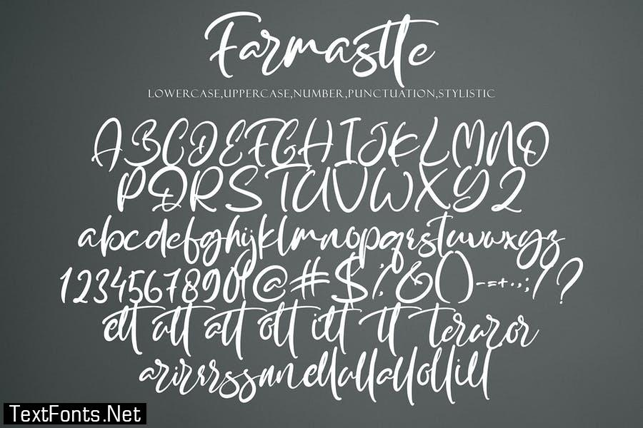 Farmaste Font