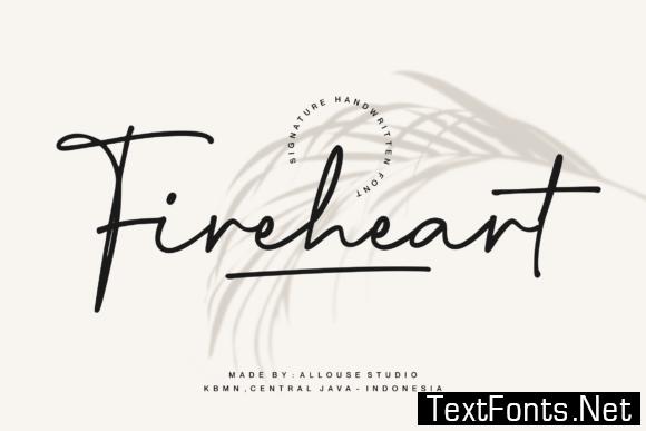 Fireheart Font