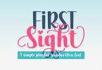 First Sight Font