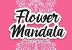 Flower Mandala Font