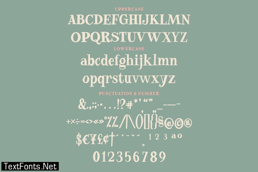 Freed Madison - A Quirky and Playful Serif